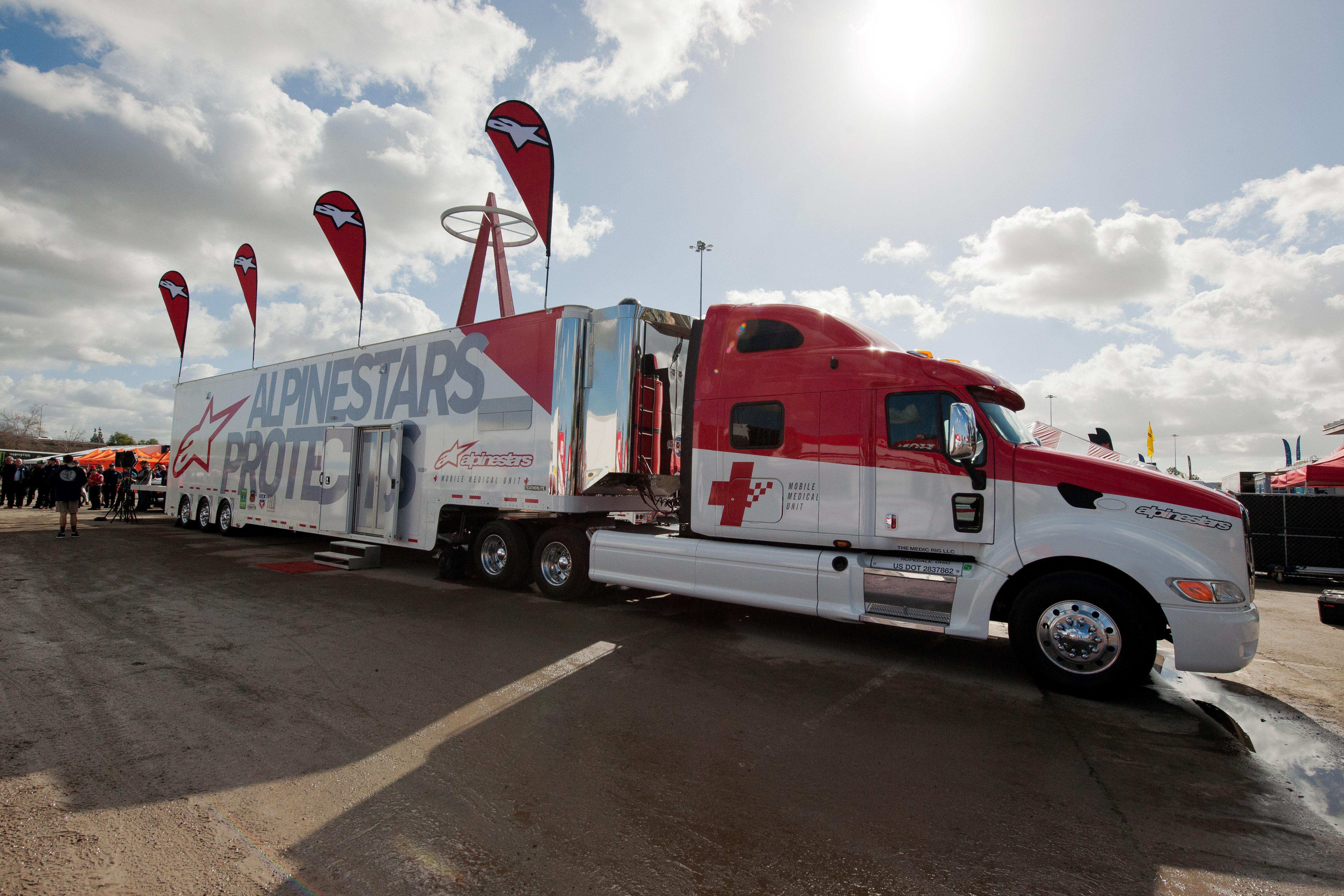 2017 – Alpinestars Mobile Medical Unit